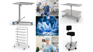 Integrated furniture systems for operating suites - ADEXTE