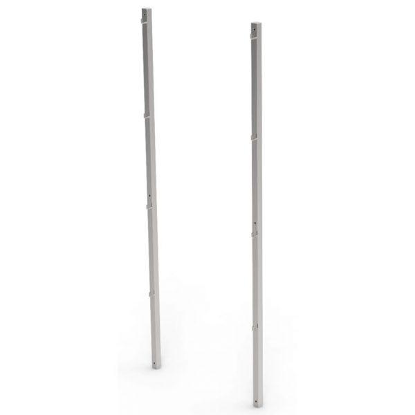 Wall mounted hook rails artt 233203 233204 233205 233206 233207