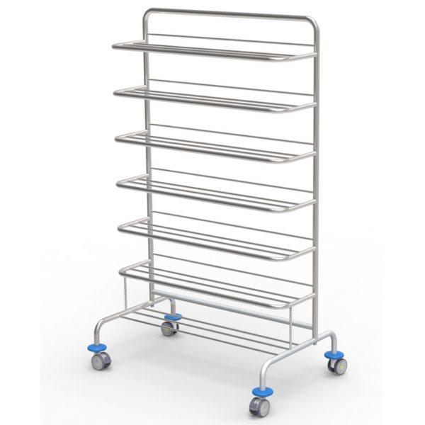 Clog racks for operating room art 233208