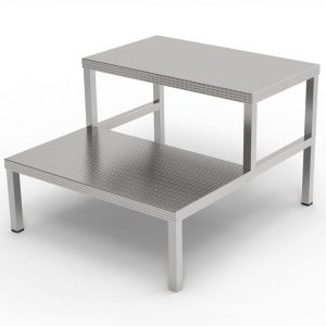 Double step stool for operating room art 233225