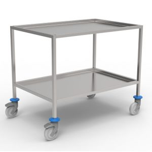 Operating Theatre instruments trolley artt 233240 - 233241 - 233242, 2 shelves