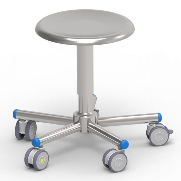 Operating room stool art 108306 with screw elevation