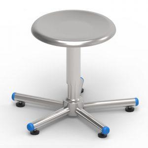 surgeon's stool art 108307 with screw elevation