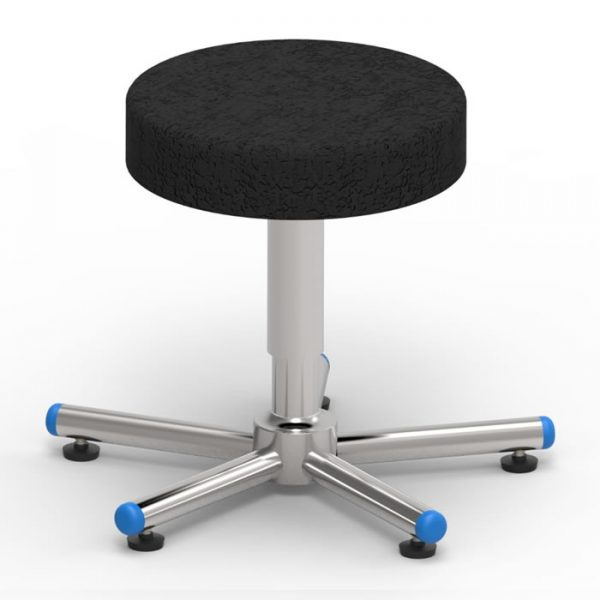 Operating room stool with screw elevation art 108309