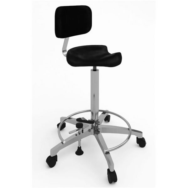 Surgical chair ergonomic saddle art 108315 with backrest