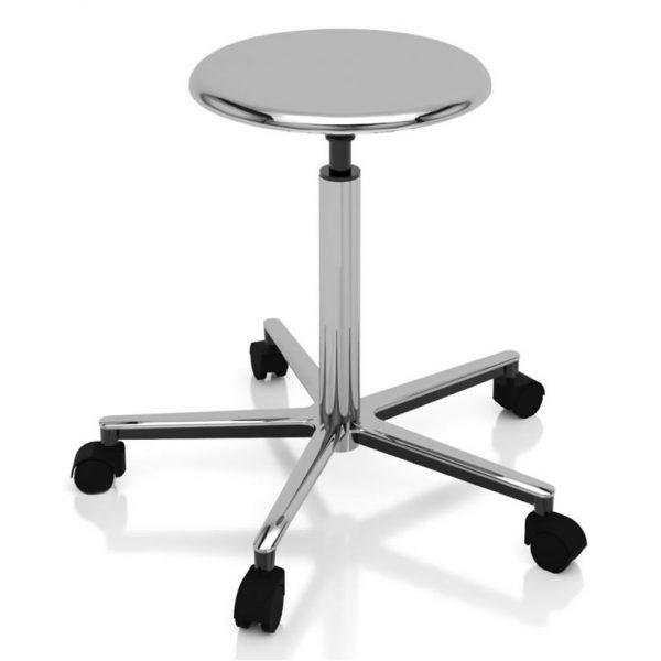 Examination room stools chrome-plated art 108317