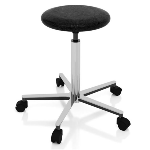 Examination room stools art 108323 with gas spring elevation