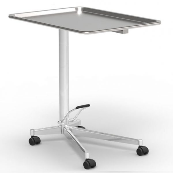Mayo table art191113 removable deep-drawn table top, with rounded corners