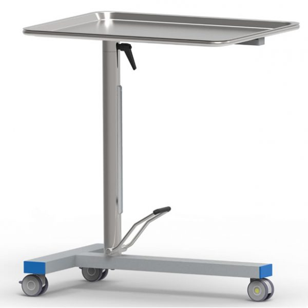 Mayo table art191102,with single acting high precision hydraulic pump and rotating table top