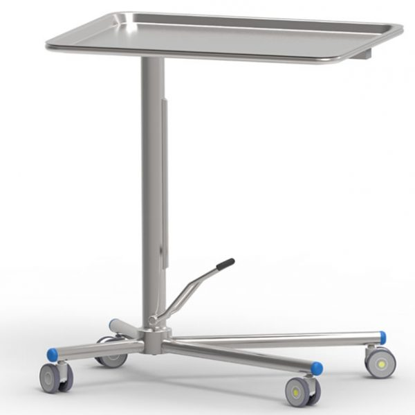 Mayo table art191109 with single acting high precision hydraulic pump