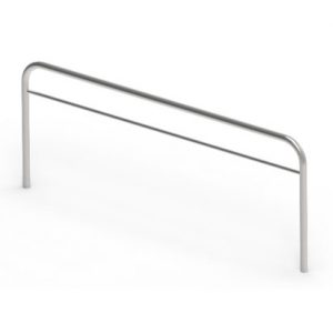 Tubolar overbridge art 191122 with horizontal tube hooks for instruments table, made of Stainless Steel - ADEXTE Srl