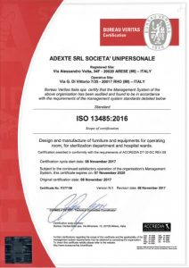 ADEXTE Certification ISO 13485:2016