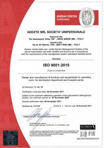 ADEXTE Certification ISO 9001:2015